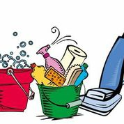 Tools and materials for cleaning.